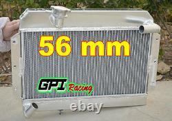 Aluminum Alloy Radiator Side-fill For Mg Mgb Gt/roadster 1963-1968 64 65 67