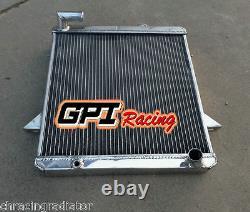 Aluminum Alloy Radiator Triumph TR6 TR 6 2.5L 1975-1976 75 76 M/T 62mm CORE