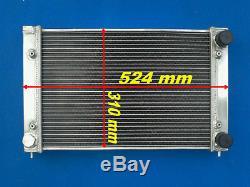 Aluminum Alloy Radiator Vw Corrado Scirocco Jetta Golf Gti Mk2 1.8 16v 86-92 88
