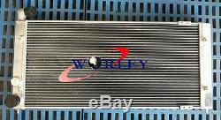 Aluminum Alloy Radiator for VW Golf 2 Corrado VR6 Turbo