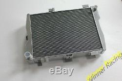 Aluminum Radiator Audi RS2 RS 2 B4 ADU 2.2 L 20V Turbo 1994-1995 70mm 2.75'