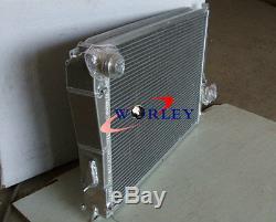 Aluminum Radiator+FAN for BMW E46 M3 330D 328 Ci 323 Ci 320 Ci 318i 1999-2007