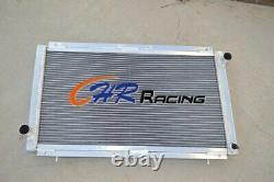 Aluminum Radiator FOR Subaru Impreza WRX STI GC8 2.0L EJ20 92-00 MT MANUAL
