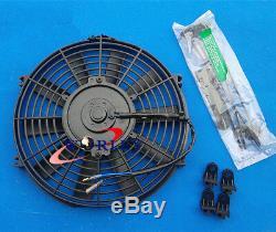 Aluminum Radiator + Fan For MG MGA 1500/1600/1622/DE-LUXE 1955-1962 57 60 61 MT