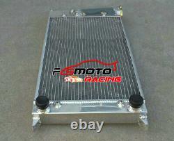 Aluminum Radiator & Fan For VW GOLF MK1 CADDY SCIROCCO Jetta GTI SPEC 1.6 1.8 8V