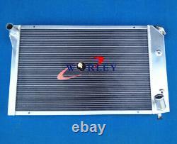 Aluminum Radiator + Fans For Chevy Corvette C3 350/305 5.7/5.0 V8 A/t 1977-1982