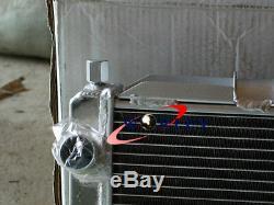 Aluminum Radiator + Fans Toyota MR-2 MR2 SW20 2.0 REV1 REV2 REV3 TURBO N/A 90-99