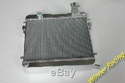 Aluminum Radiator Fit Opel Manta A 1.9 S 66KW /Kadett C Coupe 2.0 E Rallye 56mm