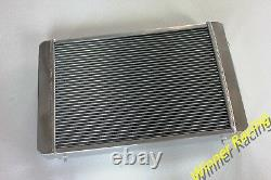 Aluminum Radiator Fit Triumph TR8 3.5L V8 Manual 1978 1979 1980 1981