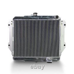 Aluminum Radiator Fits Daihatsu Rocky Fourtrak F7 F8 Diesel Turbo 2.8d Mt 85-98