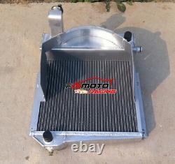 Aluminum Radiator For Austin Healey Sprite Bugeye Frogeye/mg Midget 948/1098 Mt
