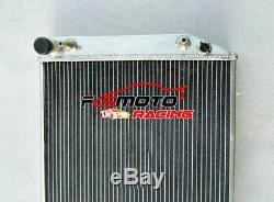 Aluminum Radiator For Jaguar XJS XJ12 V12 5.3/6.0L 1976-1996 Coupe XJ-S XJ-12 AT