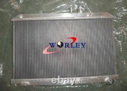 Aluminum Radiator For Mazda RX-8 RX8 SE17 1.3L 2003-2012 2004 05 06 08 Manual MT
