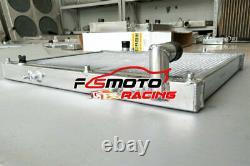 Aluminum Radiator For Mitsubishi L200 2.5L Turbo Diesel 4D56 TD AT/MT 1996-2007
