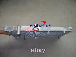 Aluminum Radiator For Mitsubishi Lancer Evo 4 5 6 IV/V/VI 1997-2000 98 99 00 MT