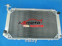 Aluminum Radiator For Nissan Y60 Patrol GQ 2.8 4.2 Diesel RD28 TD42 3.0 Petrol