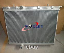Aluminum Radiator For Peugeot 206 Gti/rc 180 1999-2008 00 01 02 03 04 05 06 07