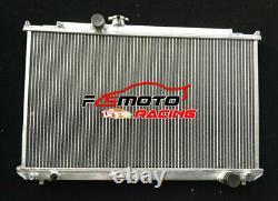 Aluminum Radiator For Toyota Mark II/CHASER JZX100 1JZGTE PETROL TURBO MT 96-01