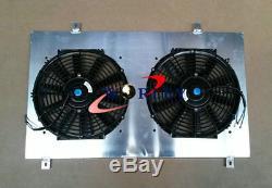 Aluminum Radiator+ Shroud + Fan for NISSAN 180SX silvia S13 SR20DET 1989-1994 MT
