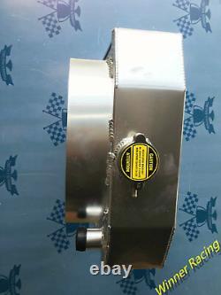Aluminum Radiator for Austin Healey 3000 1959-1967 / 100-6 1956-1959