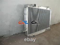 Aluminum Radiator for Landcruiser FJ80 FZJ80 4.5L 1FZ-FE petrol 1991-1998 MT