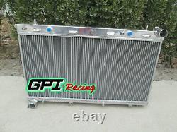 Aluminum alloy radiator FOR Subaru Forester GT SF5 EJ20 turbo M/T 1998-2002