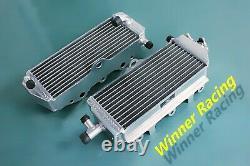 Aluminum alloy radiator FOR Suzuki RM125 E28 Model M 1989-1991 2-Strock 40MM
