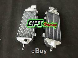 Aluminum alloy radiator Fit KAWASAKI KX500 KX 500 1985 1986