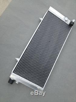 Aluminum alloy radiator Peugeot 205 GTI 1.6&1.9L & 1.8 DIESEL 1984-1994 + 2X FAN