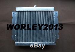 Aluminum alloy radiator + fan for Chrysler Valiant VG VJ HEMI 6 Cyl