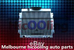 Aluminum alloy radiator for Chrysler Valiant VG VJ HEMI 6 Cyl