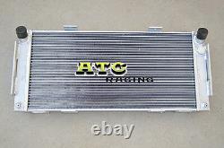 Aluminum alloy radiator for FORD GT40 V8 Manual 1964 1965 1966 1967 1968 1969