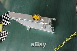 Aluminum alloy radiator for Fiat/Seat 128 127 1100 1300 1969-1985 high flow