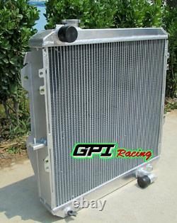 Aluminum alloy radiator for toyota HILUX LN106 LN111 Diesel 88-97 AT/MT