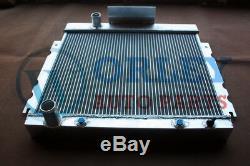 Aluminum alloy radiator + one Fan for Chrysler Valiant VG VJ HEMI 6 Cyl