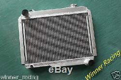 Aluminum alloy radiator/radiateur Renault Alpine A110 1300 R8 Gordini 1965-1971
