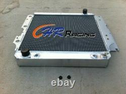 Aluminum radiator 1987-2006 for Jeep Wrangler YJ/TJ/LJ M/T RHD