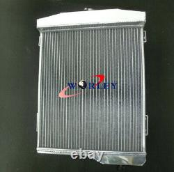 Aluminum radiator + FAN For AUSTIN HEALEY 3000 1959-1967 Manual MT