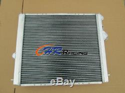 Aluminum radiator+Fan for Renault Clio 16S / Williams 1.8L/2.0L 16V F7R 93-96 MT