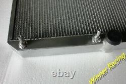 Aluminum radiator Fit Jaguar XK-E E-TYPE 5.3L V12 Series 3 1971-1974 AUTOMATIC