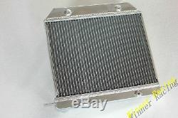 Aluminum radiator For Morgan 4/4 1600 With Ford Kent Crossflow engine 1968-1993