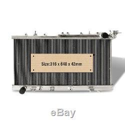 Aluminum radiator fits NISSAN PULSAR N14 N15 2.0 GTIR TURBO 1991-2000