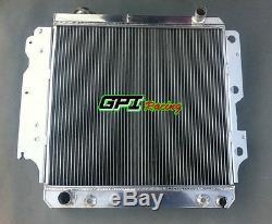 Aluminum radiator for Jeep Wrangler YJ TJ LJ 2.4L/2.5L L4 4.0L/4.2L L6 1987-2006