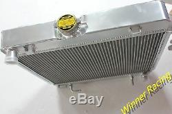 Aluminum radiator for MERCEDES-BENZ C123 S123 W123 200D-280C 1976-1985