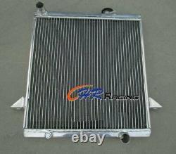 Aluminum radiator for Triumph TR 6 1969-1974 / TR 250 1967 1968