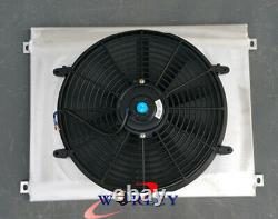 Aluminum shroud+fan for BMW E36 M3 Z3 325TD 320 323 328 Manual