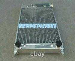 Custom Topfill Alloy Radiator For Vw Golf Mk1/caddy/ Scirocco Gti Spec 1.6 1.8