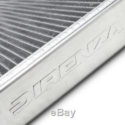 DIRENZA 40mm ALLOY RACE RADIATOR RAD FOR ROVER MG TF 1.6 1.8 02+ 115 120 135 160