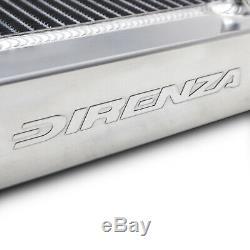 DIRENZA 40mm ALLOY RACE RADIATOR RAD FOR VW GOLF MK2 SCIROCCO 1.6 1.8 16V 83-92