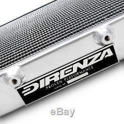 DIRENZA 40mm ALLOY RADIATOR FOR ROVER AUSTIN MINI COOPER 850 1000 1100 GT 59-92